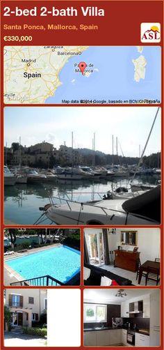 2-bed 2-bath Villa in Santa Ponca, Mallorca, Spain ►€330,000 #PropertyForSaleInSpain