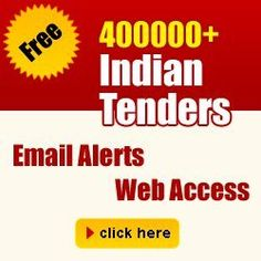 Find >4Lac tenders info with us. And GROW your business by availing it.