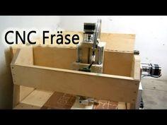 Eigenbau CNC Fräse - YouTube