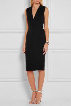 Victoria Beckham | Wool and silk-blend dress | NET-A-PORTER.COM