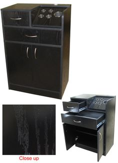 Styling Cabinet (Black)