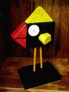 Etsy listing at https://www.etsy.com/listing/177370618/folk-art-black-bird-mixed-media-original