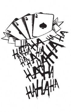 The Joker Tattoos 5 . - The Joker Tattoos 5 … - The Joker Tattoos 5 . - The Joker Tattoos 5 … - Joker Tattoos, Joker Card Tattoo, Jared Leto Joker Tattoo, Game Tattoos, Batman Tattoo, Drug Tattoos, Tatuaje Harley Quinn, Hahaha Joker, Batman Art