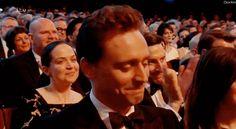 Tom Hiddleston #Oliviers via Twitter