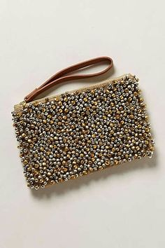 Clutch from anthropologie. This is really cute in person Beaded Clutch, Beaded Bags, Anthropologie, Potli Bags, Craft Bags, Cute Bags, Handmade Bags, Clutch Bag, Studded Clutch