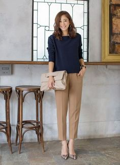 cute work outfits for women Click the link for more information. cute work outfits for women Classy Work Outfits, Summer Work Outfits, Office Outfits, Work Casual, Outfit Work, Office Attire, Casual Office, Work Attire, Corporate Fashion Office Chic