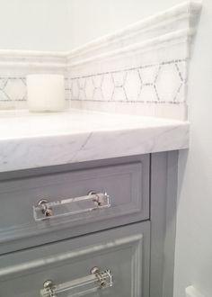 Master bathroom design by Caroline Brodette Design