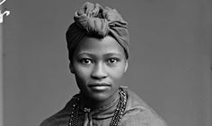 Member of the African choir--This beautiful series of portraits taken by the London Stereoscopic Company are supposedly the first pictures of African American taken in Britain. I find this image in particular to be a real stunner!