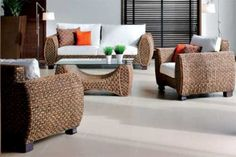 Five Ideas To Decorate Your Bedroom With White Wicker Furniture – Wicker Decor Indoor Wicker Furniture, Sunroom Furniture, Furniture Care, Living Room Furniture, Home Furniture, Outdoor Furniture Sets, Furniture Design, Furniture Stores, Furniture Ideas