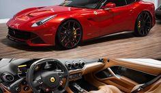 Olhem que linda esta Ferrari F12 customizada.