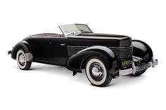 1937 Cord 812 Convertible - one of the most awesome body styles in my humble opinion. . . .