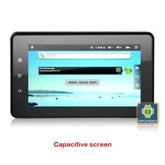 Online shop wholesaler for 7 Inch Android 2.3 Capacitive Screen Tablet PC with WIFI GPS WCDMA 3G.---$187.00