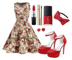 Outfit #1169 by ivanna1920 on Polyvore featuring polyvore fashion style Lily Charmed Chicnova Fashion Dolce&Gabbana MAC Cosmetics NARS Cosmetics clothing