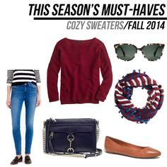 jillgg's good life (for less) | a style blog: fall must-haves 2014: cozy sweaters!
