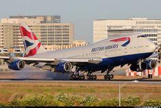 British Airways at LAX