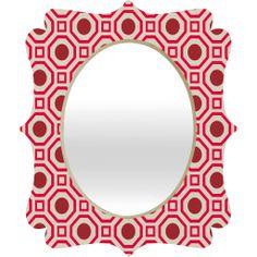 Cayenne Quatrefoil Mirror  #mirror #fancy #home #office #dorm #apt #apartment