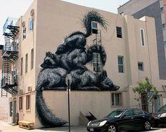 ROA Street Art in New York