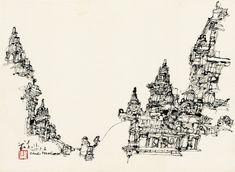 Urban Sketchers: Trip to Prambanan