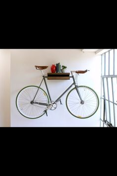 Brighamu0027s Knife U0026 Saw Furniture Range And Is A Simple Shelf That Can Hold A  Fixed Gear Bike Along With Books, Accessories, Ornaments, Etc.