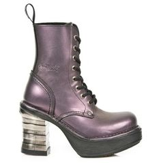 4966405285bd M.8354 New Rock High Quality Purple Neo Punk Boot Gothic Boots