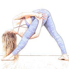 Yoga Cartoon, Cartoon Art, Yoga Kunst, Airstream Sport, Yoga Painting, Power Yoga, Yoga Drawing, Yoga Illustration, Dancing Drawings