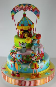 Circus Cake - viorica's cakes