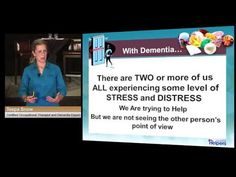 ▶ Alzheimer's and Dementia: Care for the Caregiver: Part 2 Fear of Dementia - YouTube Teepa Snow