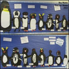 Penguin Activities: A Round-Up from Boy Mama Teacher Mama Kinds Of Penguins, Different Types Of Penguins, Penguins And Polar Bears, Baby Penguins, Penguin Day, Penguin Life, Penguin Craft, Penguin Parade, Penguin Research