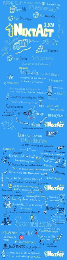 #NextAct202: Netzwerke MOBILISIEREN, Austausch MODERIEREN und dann Kompetenz MULTIPLIZIEREN!  Einzelne Communities untereinander vernetzen, denn Transformation geht nur cross-sektoral. #Netzwerken #Networking #NewWork #Digitalisierung #DigitaleTransformation #Sketchnote