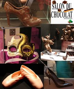 CHOCOLATE SHOES: I'm torn on whether to eat them