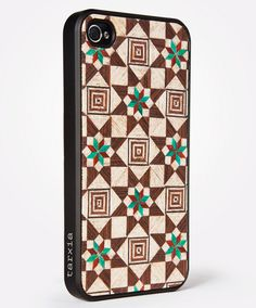 IPHONE 4/S WOOD CASE SABIKA FOREST