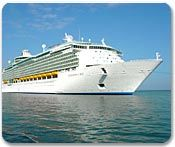 Our most recent cruise was on the Navigator of the Seas, her sister ship Adventure of the Seas was awesome as well.  I love cruising with Royal Caribbean !