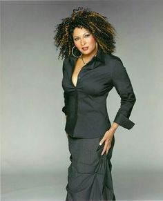 Pam Grier. The new 65 years look.