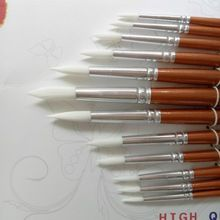 Cheap paint brush, Buy Quality paint brush set directly from China paint brush tools Suppliers: Round Shape Nylon Hair Wooden Handle Paint Brush Set Tool For Art School Watercolor Acrylic Painting Supplies Diy Canvas Frame, Frames For Canvas Paintings, Nylons, Custom Poster Frames, Painted Wood Crafts, School Art Supplies, Acrylic Paint Brushes, Art Aquarelle, Ecole Art