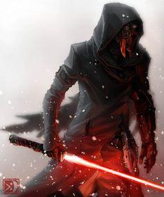 Sith Assassin by sXeven. #StarWars #Art #gosstudio .★ We recommend Gift Shop: http://www.zazzle.com/vintagestylestudio ★