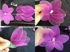 Nylon Flowers: