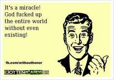 miracles happen.