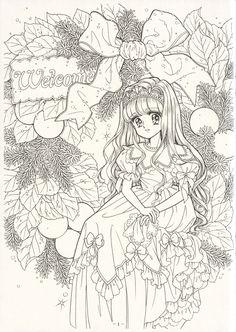 ぬりえ『ジョアンナ』 1998年(2)の画像 | ☆ドリーミィー・フェザー☆