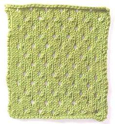 Free Knitting Stitch Gallery : Stitch Gallery - Single Basketweave Yarn Free Knitting Patterns Crochet...