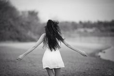Photo Run by Sabrina Guthier on Amazing Art, Portrait Photography, White Dress, Running, Photo And Video, Black And White, Image, Anais Nin, Ticket