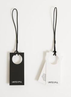 Modern packaging design black apparel, united soul brand identity and tags Fashion Packaging, Fashion Branding, Clothing Packaging, Corporate Design, Print Packaging, Packaging Design, Identity Design, Logo Design, Brand Identity