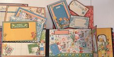 Graphic 45 Children's Hour Boxed House Mini Album by Anne Rostad