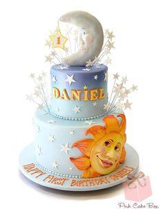 Moon And Sun Cake  I Love Cakes cakepins.com
