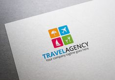 Travel Agency Logo by XpertgraphicD on Creative Market