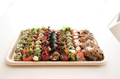 Catering Sushi Platte Sushi Catering, Food, Fine Dining, Products, Meals