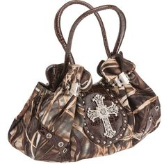 #RealtreeMax-4 #Camo Studded Cross Satchel #handbag $39.99