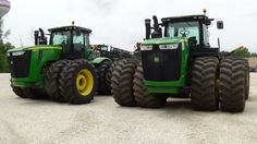 Pair of 460hp John Deere 9460Rs