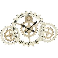 Liking this one too! I pinned this Cogs Wall Clock from the Rosemore & Redding event at Joss and Main!