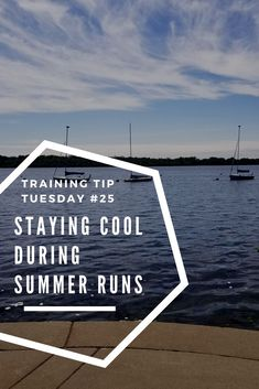 It might be only June but the weather is heating up! I am sharing some quick tips to help you stay cool on summer runs. These are especially helpful if you are training for a fall marathon or half marathon! #Marathon #HalfMarathon #MarathonTraining #HalfMarathonTraining #Running #runningtips #fitness #fitnesstips