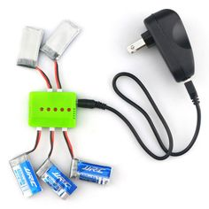 X5A-A13 3.7V 400mAh 4-Batteries, 1-to-5 Battery Charger, TOL Converter, Charging Data Cable Set. Find the cool gadgets at a incredibly low price with worldwide free shipping here. X5A-A13 4-Batteries + 1-to-5 Charger + TOL Converter + Charger Cable, Batteries & Chargers, . Tags: #Hobbies #Toys #R/C #Toys #Batteries #Chargers